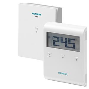 RDD100.1RFS - Беспроводной комнатный термостат с LCD дисплеем, включая приемник Siemens