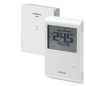 RDE100.1RFS - Беспроводной комнатный термостат with Авто таймер, включая приемник Siemens