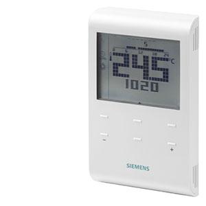 RDE100 - Комнатный термостат с автоматическим таймером и LCD, AC 230 В  Siemens