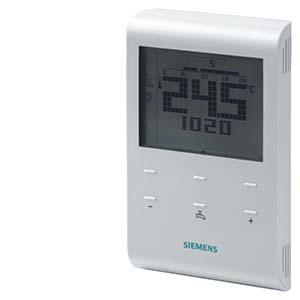 RDE100.1DHW - Комнатный термостат с таймером, дисплеем, батарейкой и управлением ГВС Siemens