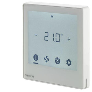 RDF800KN - Touch screen room thermostat with KNX communications Siemens