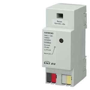 N120/02 - Дроссель N 121, на шину INSTABUS KNX/EIB, для применения совместно с бездроссельными блоками питания Siemens