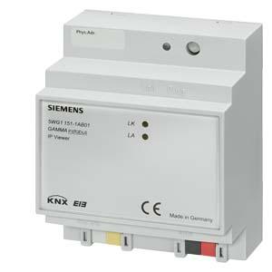 N151 - Веб-сервер N 151, шлюз KNXnet-IP, установка на DIN-рейку Siemens