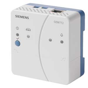 OZW772.01 веб сервер Synco System Siemens