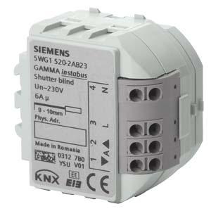 RS520/23 модуль управления шторами Siemens
