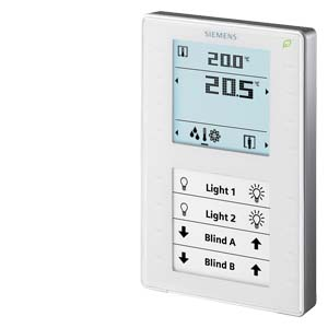 QMX3.P37 комнатный модуль KNX с датчиком температуры Siemens