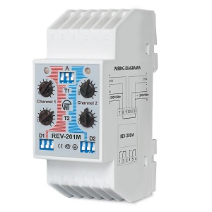 РЭВ-201М реле времени электронное двухканальное Новатек-электро