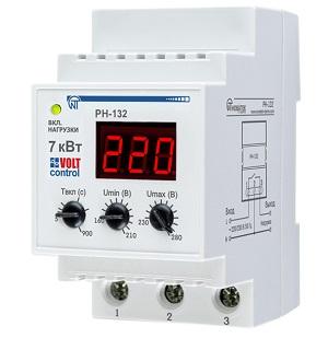 РН-132 «Volt Control» 32А реле напряжения Новатек-Электро