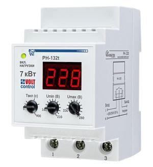 РН-132Т «Volt Control» 32А реле напряжения Новатек-Электро