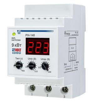 РН-140 «Volt Control» 40А реле напряжения Новатек-Электро