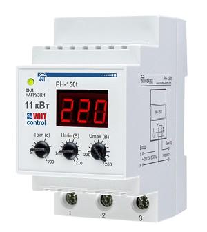 РН-150Т «Volt Control» 50А реле напряжения Новатек-Электро