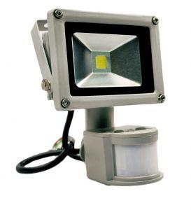 Светодиодный прожектор 10 ватт 12/24В с датчиком движения Exmork