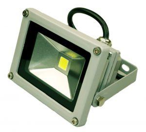 Светодиодный прожектор 10 ватт 12/24В в уличном корпусе Exmork