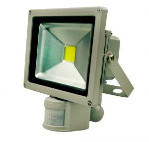 Светодиодный прожектор 20 ватт 220В с датчиком движения Exmork