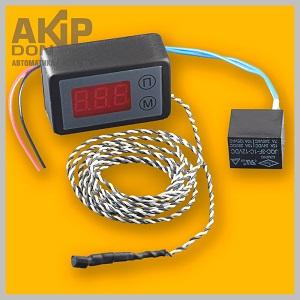 ТК-12В-DS-a терморегулятор климат-контроля AKIP-DON