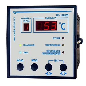 TР-100М цифровое температурное реле Новатек-Электро
