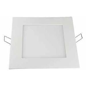 Светодиодный встраиваемый светильник квадратный 9 Вт 4500K Exmork
