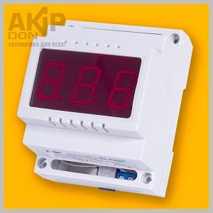 В-08К вольтметр переменного тока AKIP-DON на DIN-рейку