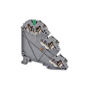 YBK 2,5-3S LD 24 VDC NPN стандартная трехуровневая пружинная клемма для датчиков со светодиодом серии YBK Klemsan