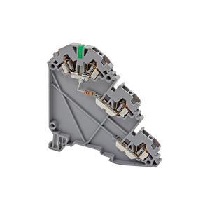 YBK 2,5-3S LD 24 VDC PNP стандартная трехуровневая пружинная клемма для датчиков со светодиодом серии YBK Klemsan