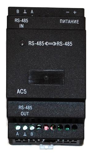АС5 повторитель интерфейса RS-485 ОВЕН