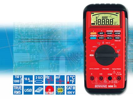 Цифровой мультиметр прецизионный BENNING MM 11