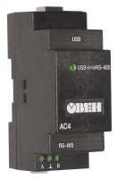 АС4 [M01] автоматический преобразователь интерфейсов USB/RS-485 ОВЕН