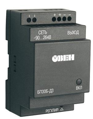 Одноканальный блок питания ОВЕН БП30Б-Д3-15