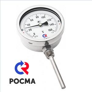 БТ-72.220-64 термометр коррозионностойкий с радиальным присоединением РОСМА
