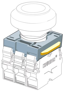 KY22-OO основание кнопки Kipprior