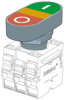 KY22-EB головка толкателя Kippribor