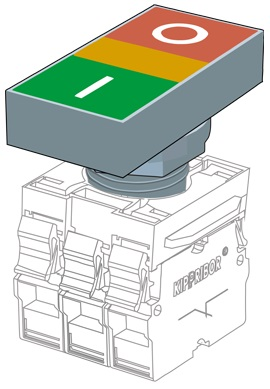 KY22-EC головка толкателя Kippribor