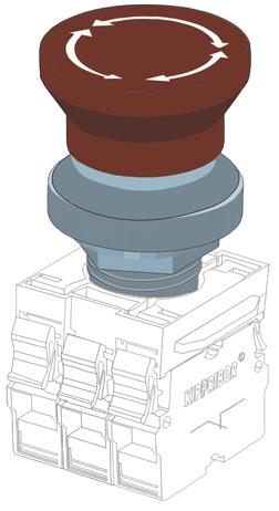 KY22-MF головка толкателя Kippribor
