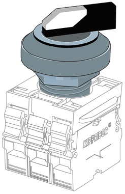KY22-SL2 головка толкателя Kippribor