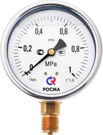 ТМ-320 виброустойчивый манометр РОСМА