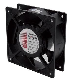 VENT-12738.220VAC.7PSHB Kippribor квадратный вентилятор с пластиковой крыльчаткой