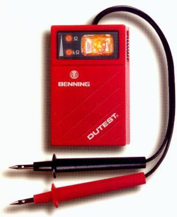 Прибор испытания изоляции и прозвонки цепи DUTEST® Benning