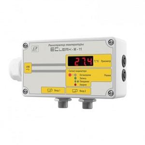 EClerk-M-K-HP измеритель-регистратор температуры в герметичном корпусе Рэлсиб