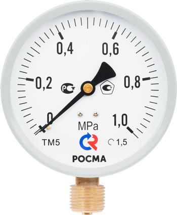 ТМ-510 М2 манометр в специальном исполнении РОСМА