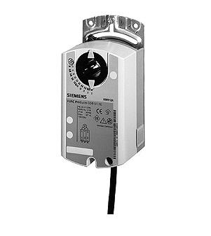 GDB164.1E привод воздушной заслонки поворотного типа Siemens