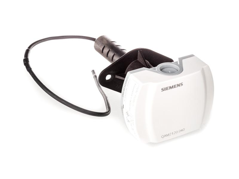 QAM2110.040 - Датчик температуры в воздуховоде 40 см Pt100 Siemens