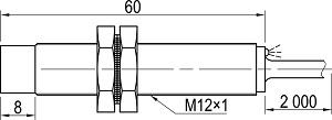 LA12M-60.4A1.U7.K индуктивный датчик Kippribor