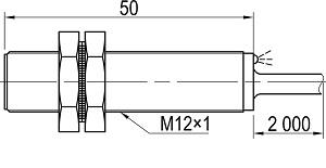 LA12-50.2N1.U1.K индуктивный выключатель Kippribor