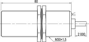 LA30-80.10A1.U7.K индуктивные датчики Kippribor