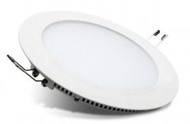Светодиодный встраиваемый светильник круглый 12 Вт 4500K Exmork