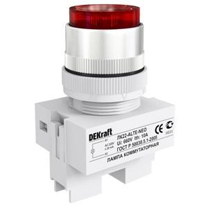 ЛК22-ALTE-WHI-NEO коммутационная лампа Dekraft