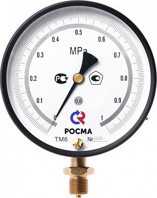 ТМ-610 МТИ Р 0-10МПа манометр точных измерений РОСМА