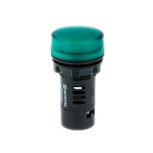 MT22-A63 Meyertec сигнальная лампа зелёного цвета