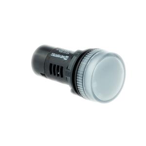 MT22-A71 Meyertec сигнальная лампа белого цвета 380V AC