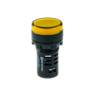 MT22-D15 Meyertec сигнальная лампа жёлтого цвета 24V AC/DC IP40